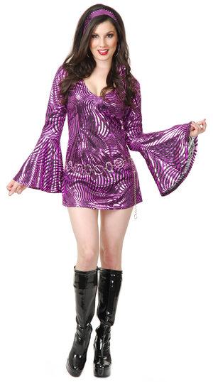 Sexy Disco Diva Costume