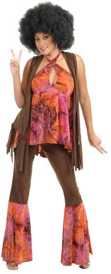 San Francisco Hippie Girl Adult Costume
