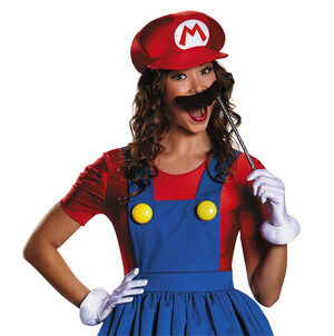 Super Mario Brothers Mario Skirt Adult Costume