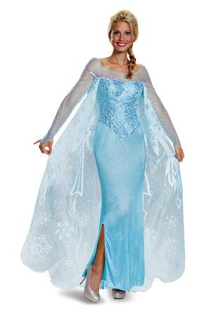 Elsa Prestige Frozen Adult Costume
