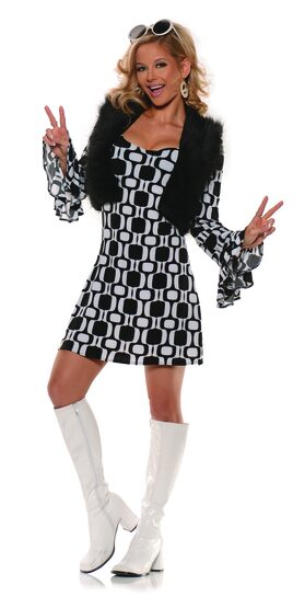 70's Hip Chick Go Go Adult Costume