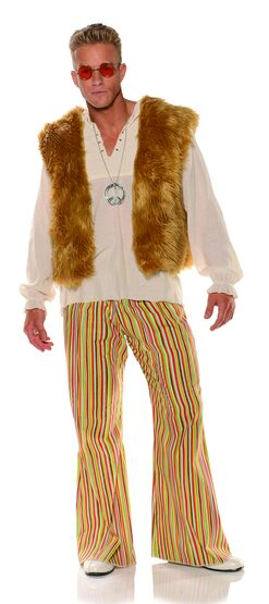 60's Sunny Hippie Adult Costume