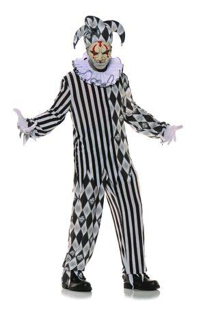 Evil Harlequin Adult Costume