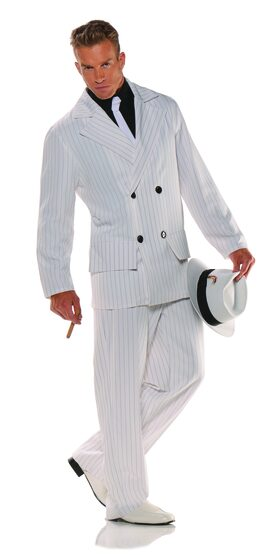 1920's Smooth Criminal Gangster Adult Costume