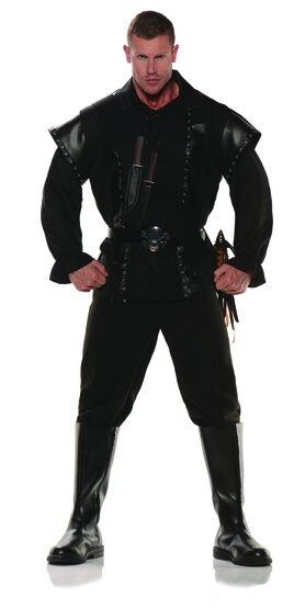 Scoundrel Warrior Adult Costume