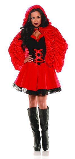 Sexy Lucious Little Red Riding Hood Costume