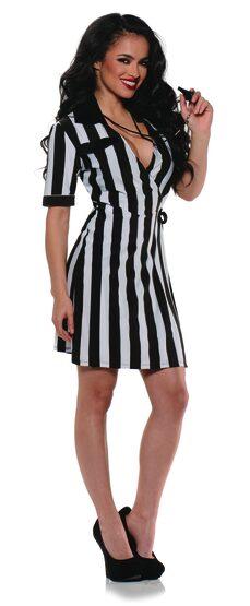 Sexy Referee Dress Costume