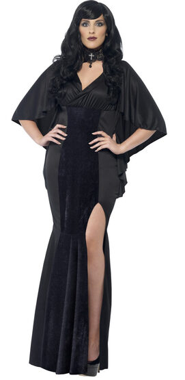 Curves Lady Vampire Plus Size Costume