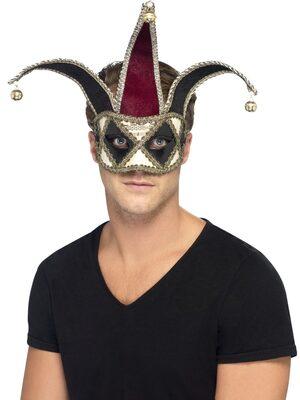 Gothic Venetian Harlequin Mask