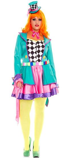Mad Hatter Hottie Plus Size Costume