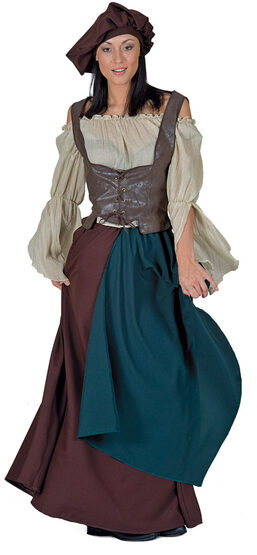 Medieval Peasant Woman Adult Costume