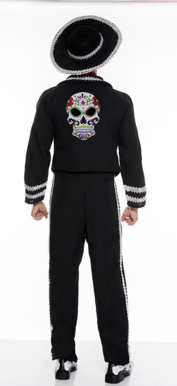 Day of The Dead Miriachi Adult Costume
