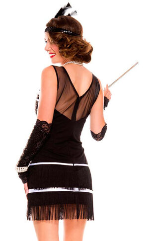 Sexy Flapper Fever Costume