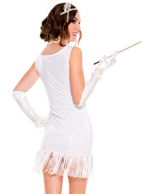 Sexy Charming Flapper Costume