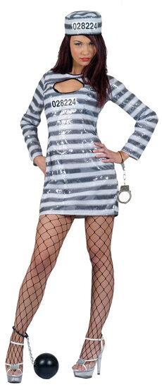 Sexy Jail Bait Convict Costume