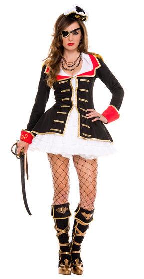 Sexy Cute Pirate Captain Costume