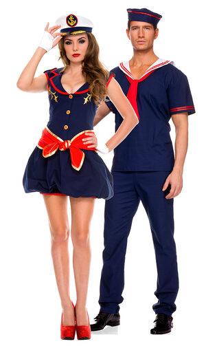 Sexy Ahoy Matie Sailor Costume