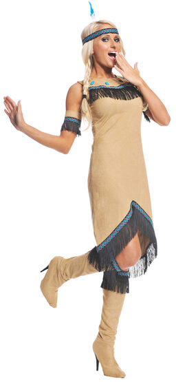Womens Indian Maiden Adult Costume
