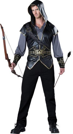 Hooded Huntsman Adult Costume