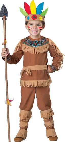 Little Indian Brave Kids Costume