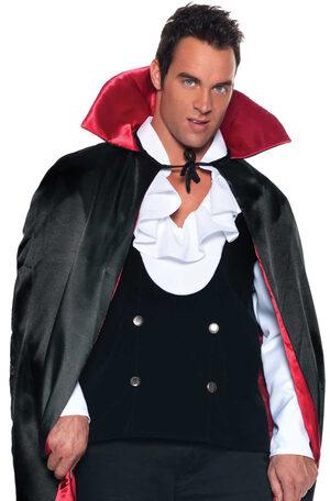 Mens Vampire Vest Adult Costume