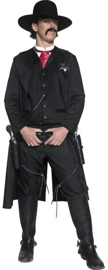 Old Western Sheriff Cowboy Adult Costume