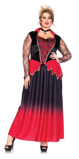 Just Bitten Vampire Beauty Plus Size Costume