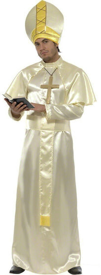 Mens Pope Religious Adult Costume