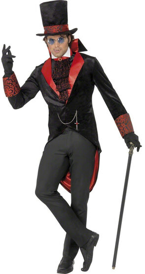 Mens Dracula Vampire Adult Costume