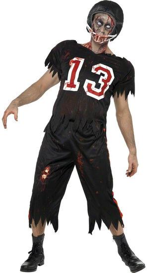 High School Horror Zombie Quarterback Adult Costume