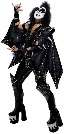 Deluxe Demon Kiss Adult Costume