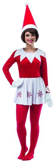 Elf on a Shelf Adult Costume