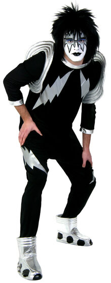 Spaceman Kiss Rockstar Adult Costume
