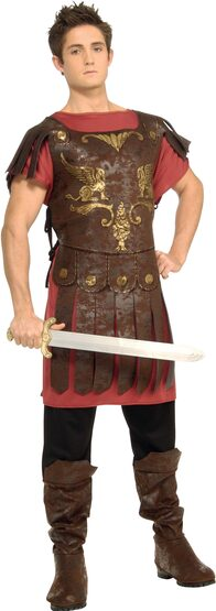 Boys Roman Gladiator Kids Costume