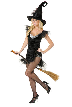 Sexy Elegant Witch Costume