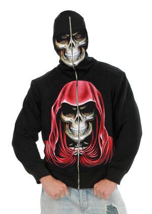 Mens Evil Empire Skeleton Hoodie