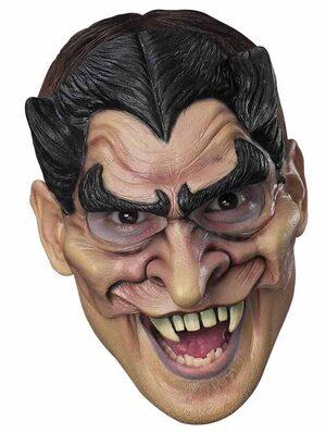 Chinless Vinyl Adult Vampire Mask