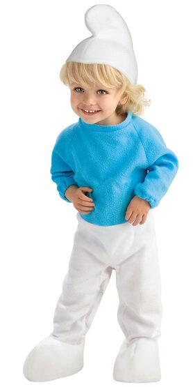 Tiny Smurf Baby Costume