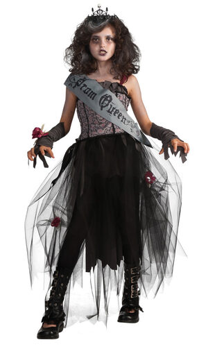 Gothic Prom Queen Kids Costume