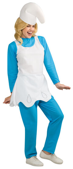 Womens Smurfette Adult Costume