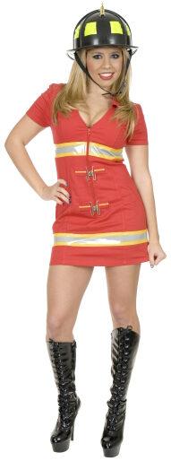 Sexy Fire Fox Firefighter Costume
