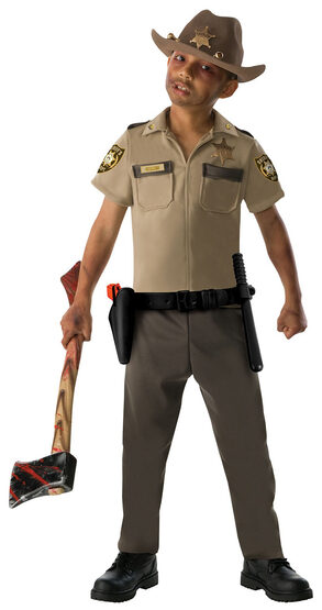 The Walking Dead Rick Grimes Teen Costume