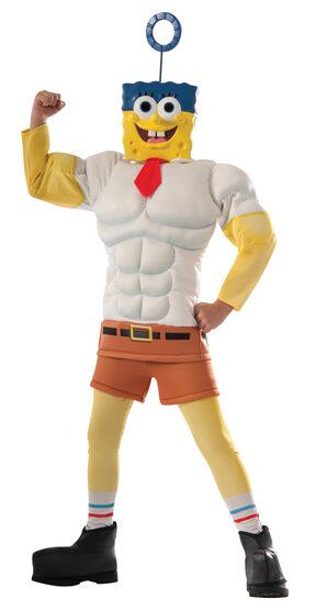 Spongebob Deluxe Invincibubble Kids Costume