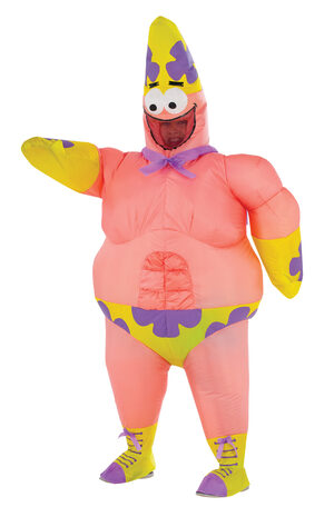 Spongebob Inflatable Mr. Superawesomeness Kids Costume