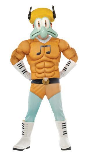 Spongebob Deluxe Sour Note Kids Costume
