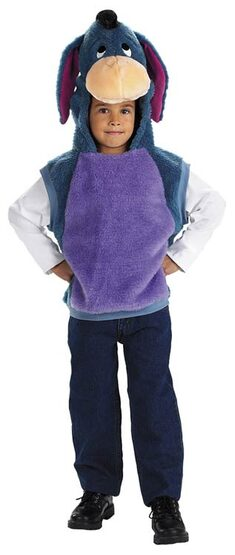 Eeyore Plush Vest Deluxe Toddler Costume