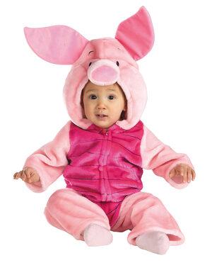 Piglet Plush Deluxe Baby Costume