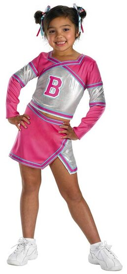 Barbie Team Spirit Kids Cheerleader Costume