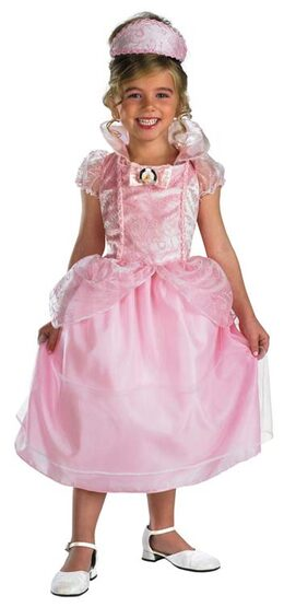 Kids Precious Barbie Princess Costume