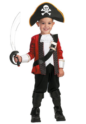 El Capitan Toddler Pirate Costume